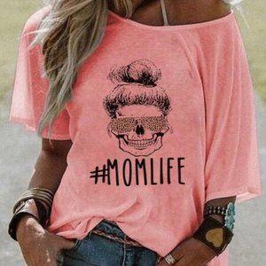 #MOMLIFE Alphabet T-shirt 05